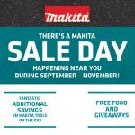 ITM's Makita November sale days