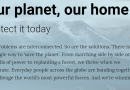 Greenpeace launches Beta version of new website