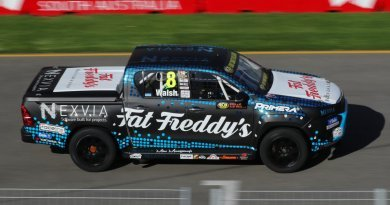 Nexvia software sponsored SuperUte racing kicks off today at Adelaide 500