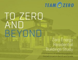 Market for zero-energy residences grew 59% in Canada and US